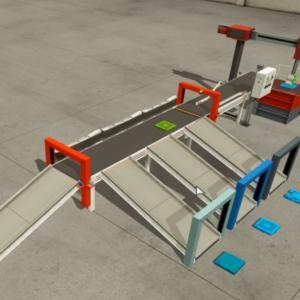 Conveyor Cagebot® Industry Grade LabVIEW Control